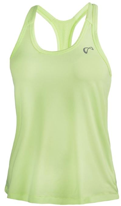 Athletic DNA Women's Racerback Tennis Tank Paradise Green