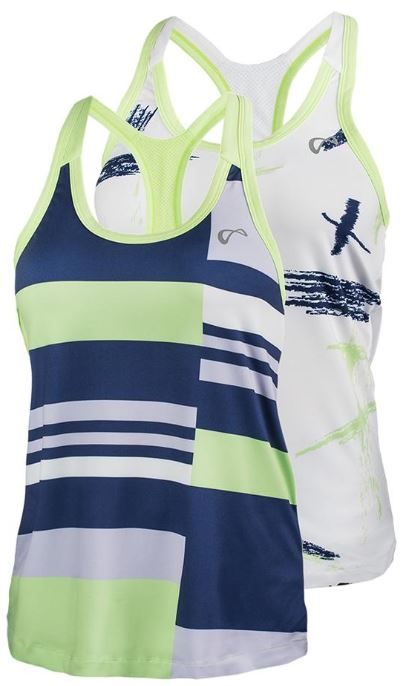Athletic DNA Women's Racerback Tennis Tank