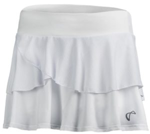 Athletic DNA Women's Tennis Skort White