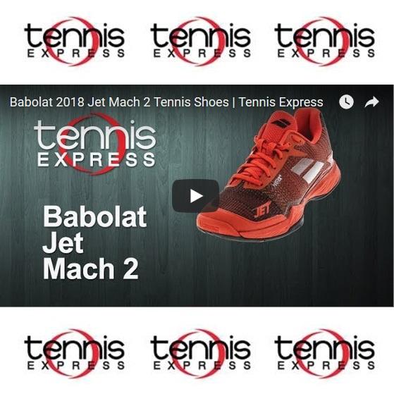 Babolat 2018 Jet Mach 2 Tennis Shoes