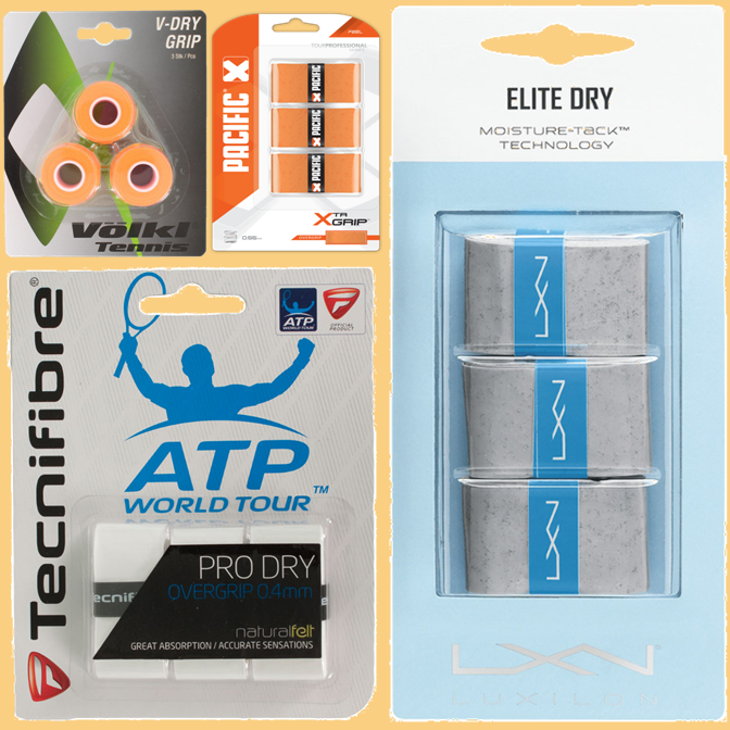 Best Tennis Overgrips for Hot and Humid Conditions