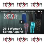 Women's 2018 Spring Tennis Apparel