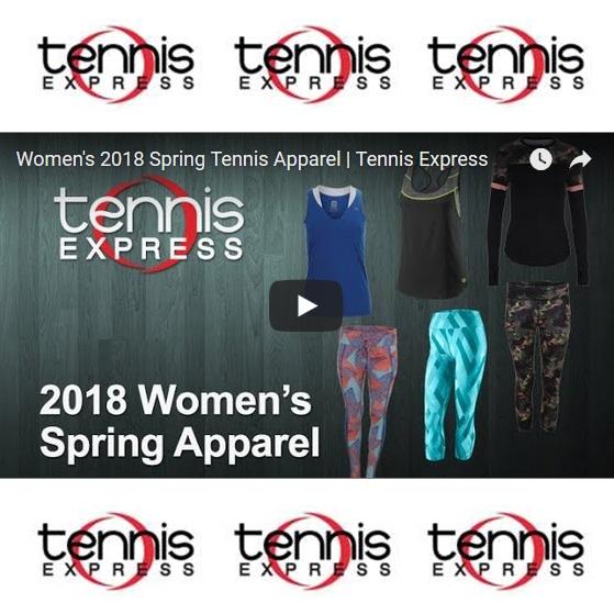 Women's 2018 Spring Tennis Apparel
