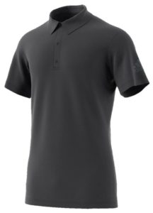 adidas Men's Climachill Tennis Polo Carbon