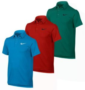 Boys Dry Tennis Polo