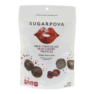 Sugarpova Rum Cherry Truffles
