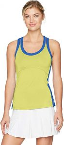 Bolle Sapphire Racerback Tank Top Yellow