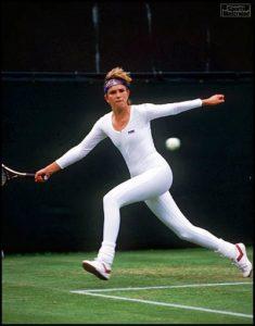 Anne White Wimbledon 1985