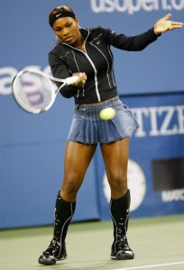 Serena Williams US Open 2002