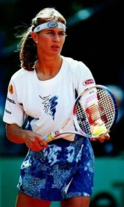 Steffi Graf 1990s outfit
