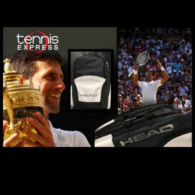 New HEAD Djokovic Tennis Bags