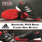 adidas Barricade 2018 Boost Tennis Shoe Review Thumbnail Final