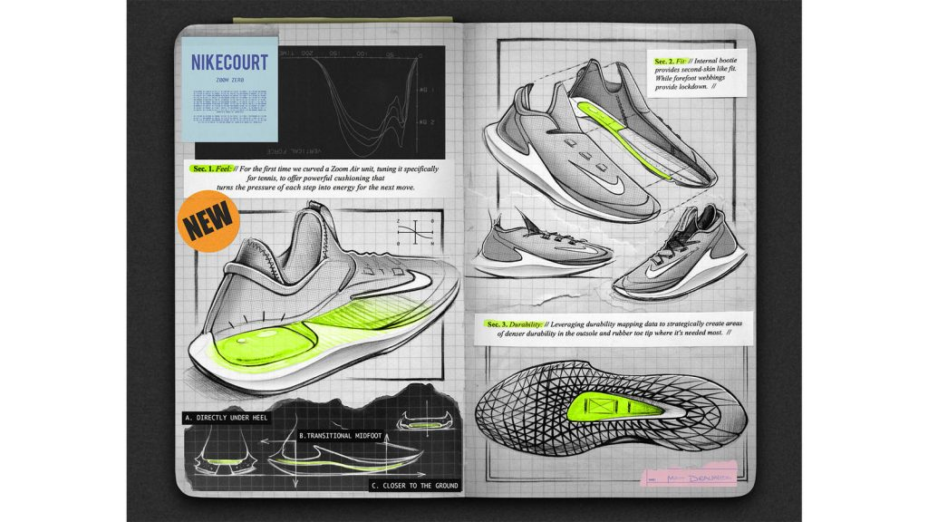 Nike Court Zoom Zero Sketch