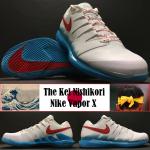 The Inspiration Behind Kei Nishikori's Nike Vapor X Tennis Shoe Thumbnail
