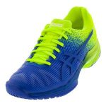 Asics Mens Solution Speed FF LE Imperial Blue and Flash Yellow