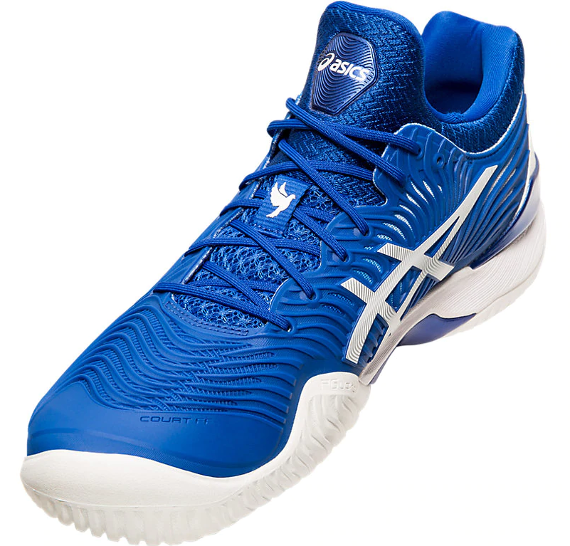 ASICS Court FF 2 Novak Tennis Shoes - Medial Side