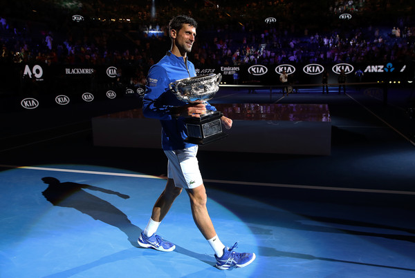 Novak Djokovic 2019 Australian Open Winner