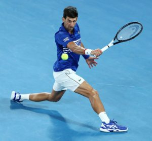 Novak Djokovic Battles Rafael Nadal at the 2019 Australian Open Final 2