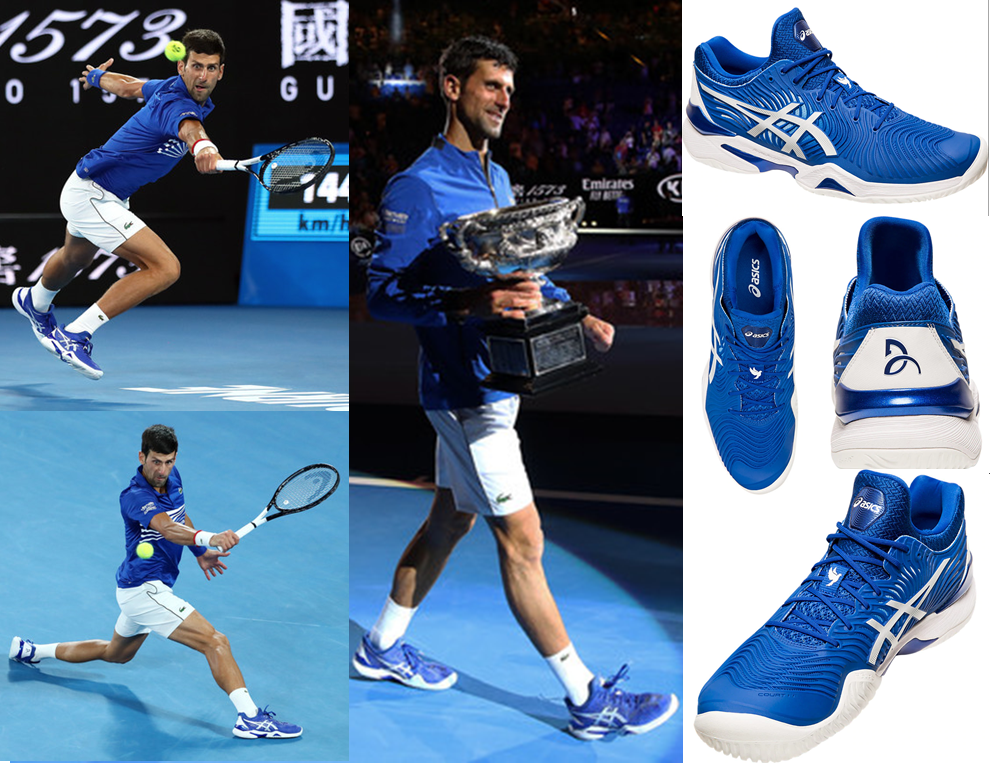 Novak's New Shoe - The ASICS Court FF 2