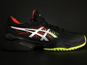 ASICS Men's Court FF 2 Tennis Shoe Lateral Side