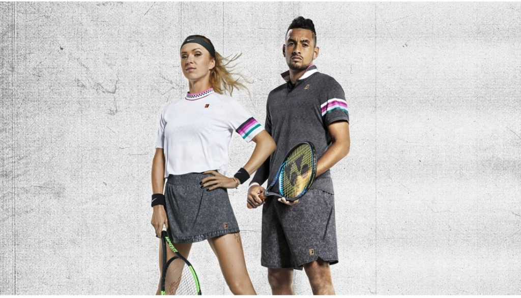 Nike Court Spring 2019 Austrlian Open Collection Svitolina with Kygrios