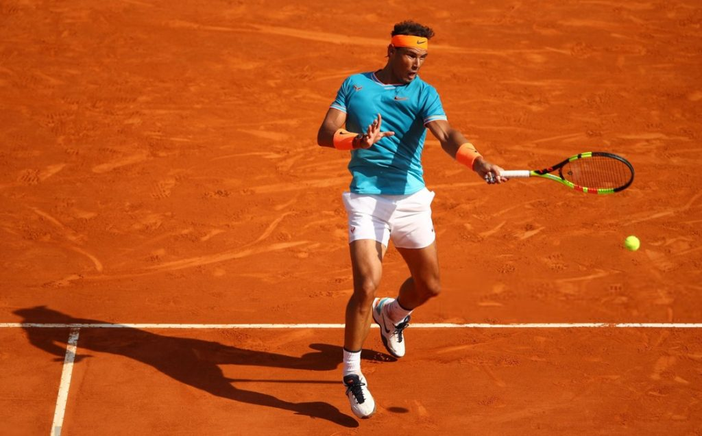 Rafael Nadal at the 2019 Monte Carlo