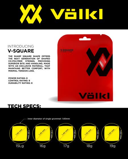 Volkl V-Square: It's hip to be SQUARE
