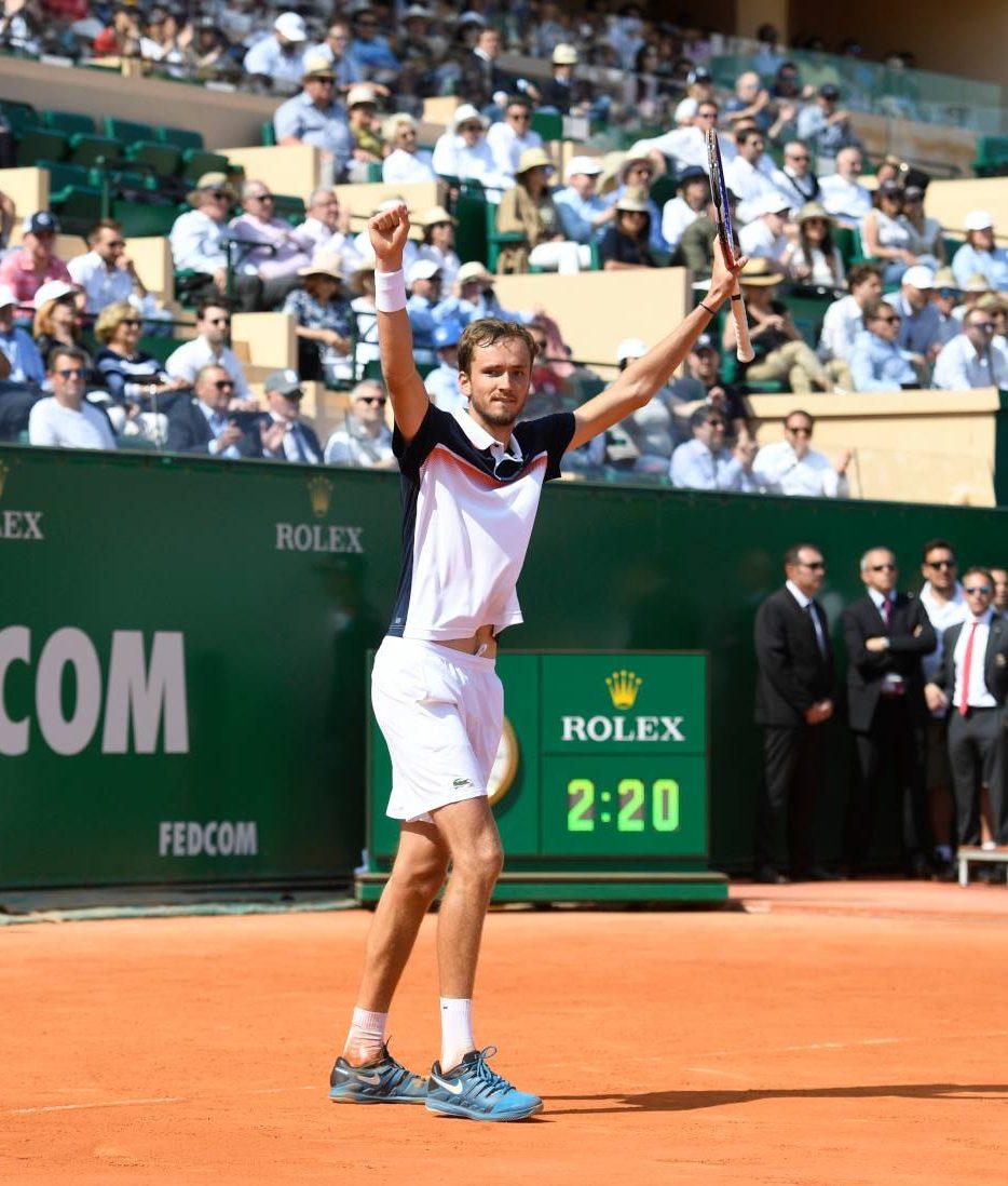 Daniil Medvedev Monte Carlo Win