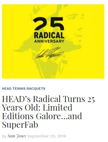 Head Radical 25 year Anniversary Blog Snippet