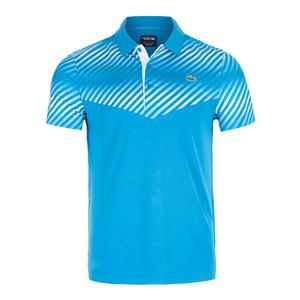 Lacoste Mens Ultra Dry Color Block Gradient Tennis Polo