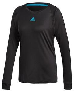 Adidas Womens Escouade Long Sleeve in Black