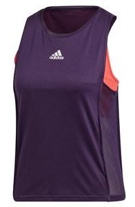Adidas Womens Escouade Tennis Tank Legend Purple