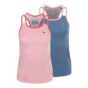 Lacoste Womens Technical Tennis Tank Top