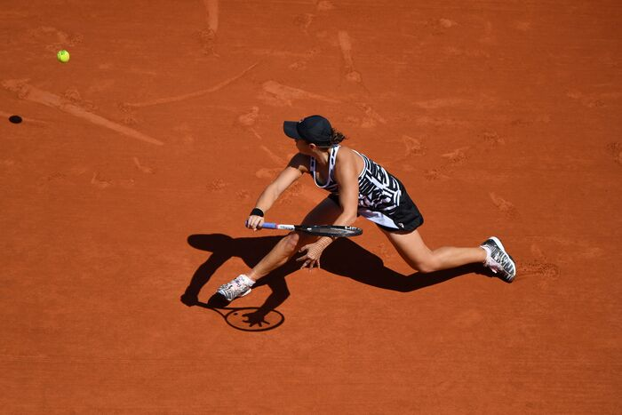 Ashleigh Barty in Fila PL Collection at Roland Garros 2019