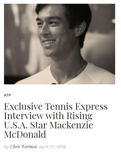 Mackenzie McDonald Interview Blog Thumbnail