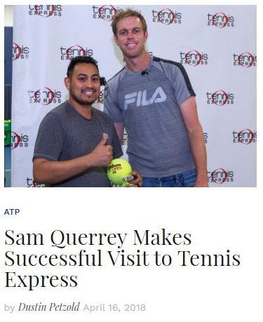 Sam Querrey Interview Thumbnail