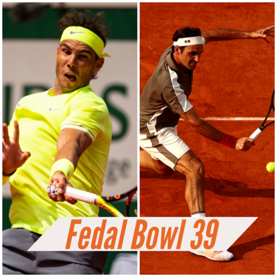 The Pressure Is On Nadal in Fedal Bowl 39