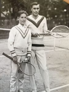 Bill Tilden 1923 photo