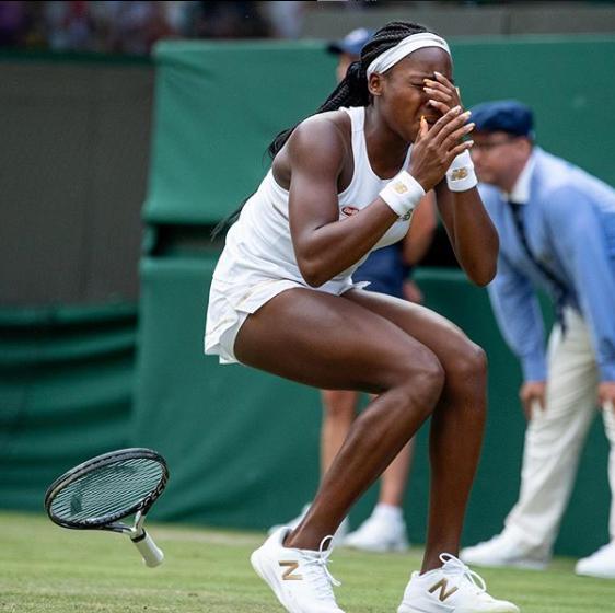 """Cori """"Coco"""" Gauff at Wimbledon 2019"""
