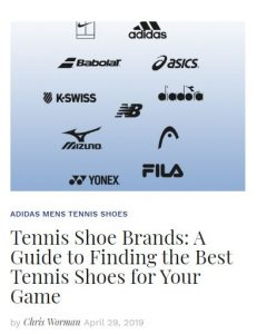 Guide to Finding the Best Tennis Shoes Blog