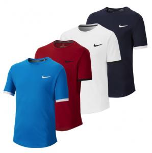 Nike Court Dry Short Sleeve Tennis Top
