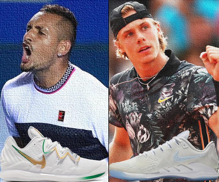 Shapovalov and Kyrgios Get New Nike Kicks for Wimbledon 2019 Shoes