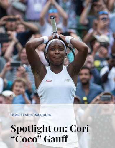 Spotlight on Cori Coco Gauff
