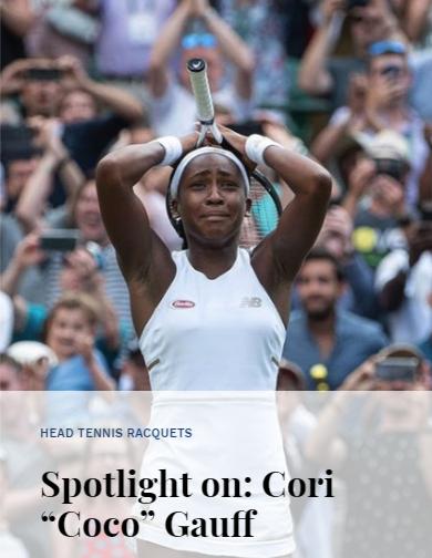 Spotlight on Cori Coco Gauff
