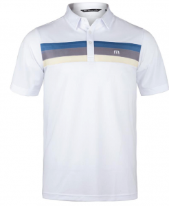 TravisMathew Men's Oh Life Tennis Polo