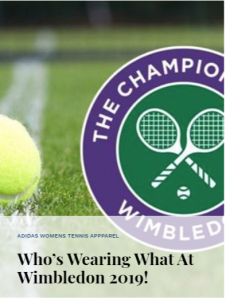 Who's Wearing What at Wimbledon