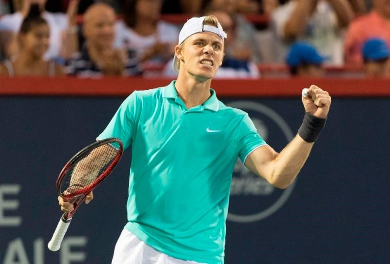 Denis Shapovalov at the 2019 Rogers Cup in Montreal