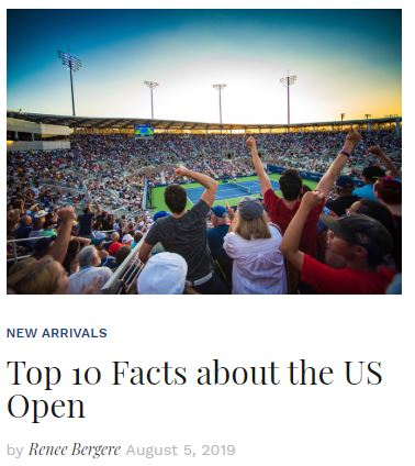 10 Facts about the US Open Blog Snippet