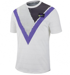 Nike Challenger Tennis Top in White