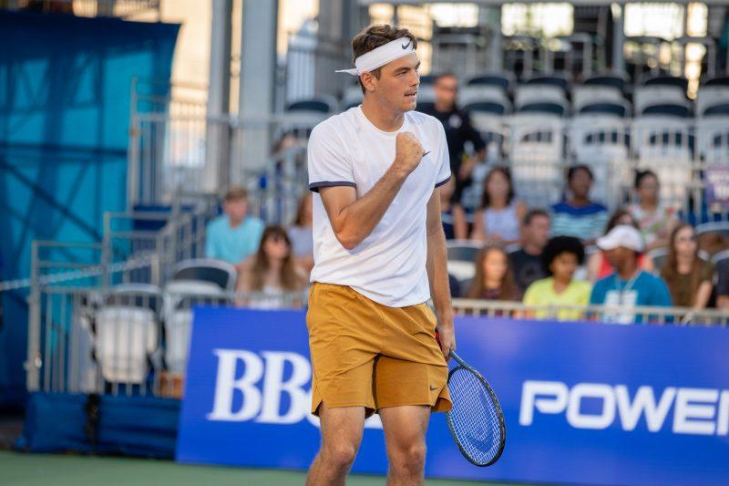 Taylor Fritz at the BB&T Atlanta Open